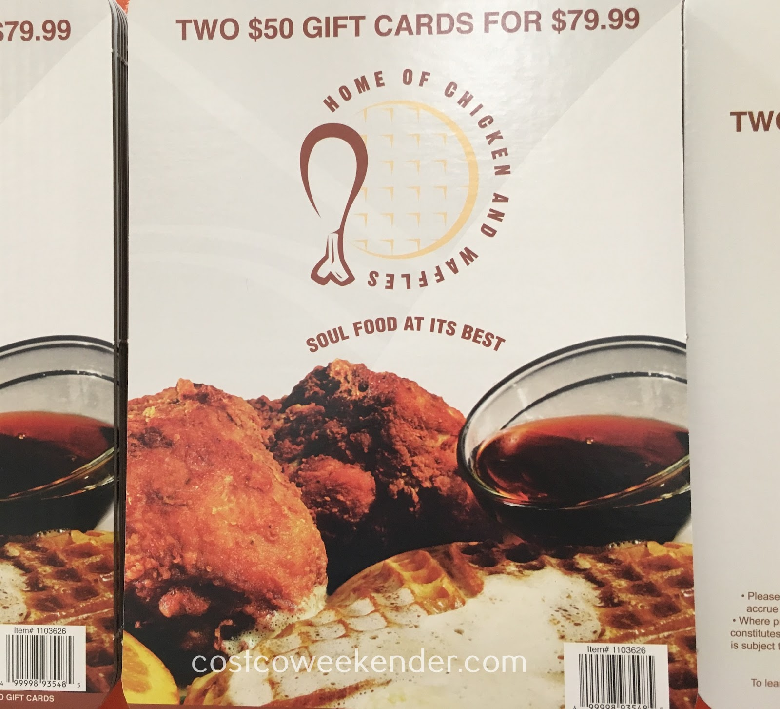 Enjoy fried chicken and sweet waffles with Home of Chicken and Waffles gift cards