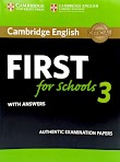 First for Schools 3 with Answers (PDF)