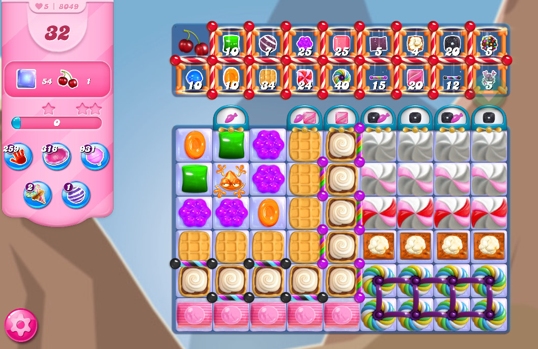 Candy Crush Saga level 8049