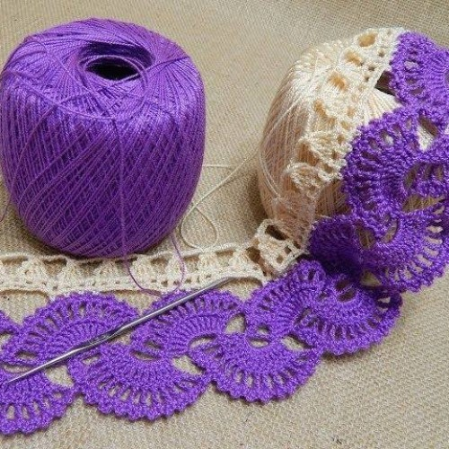 Crochet Tape Lace - Tutorial
