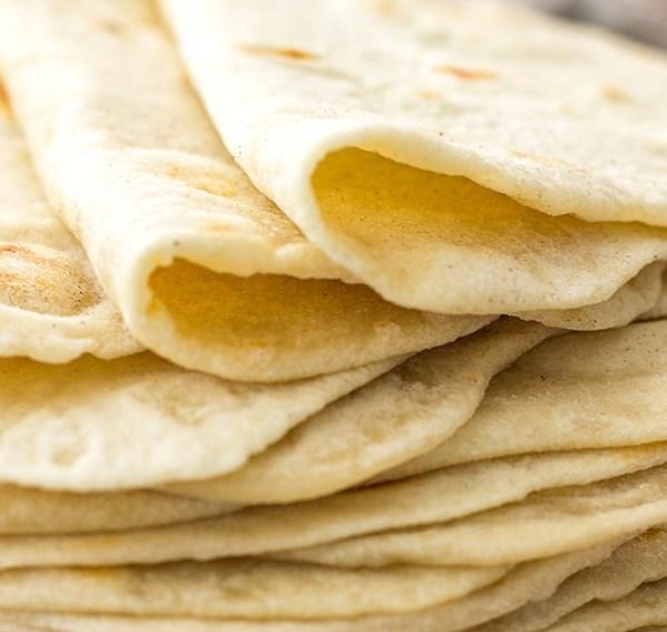 Easy Flour Tortillas From Scratch #dinner #vegan