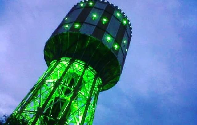 Bermalam Disekitar Menara Air Medan