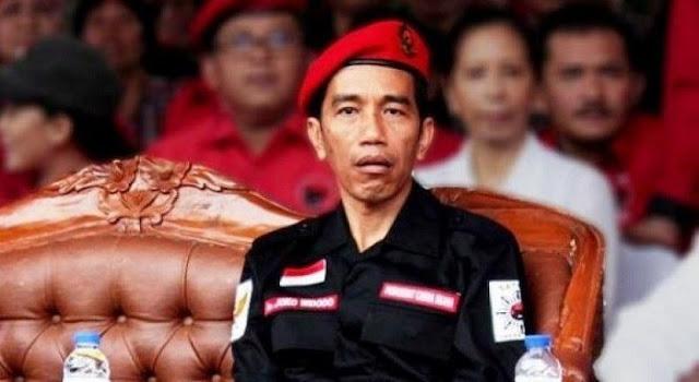 Jokowi Yang Abangan Mencomot Atribut NU Dan Hilangkan Legasi Gus Dur