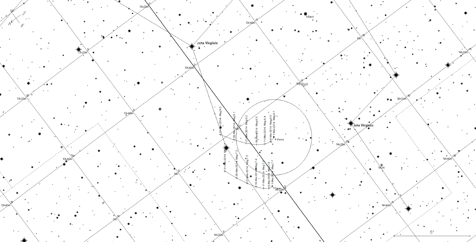 Astroblog Southern Skywatch March Edition Is Now Out