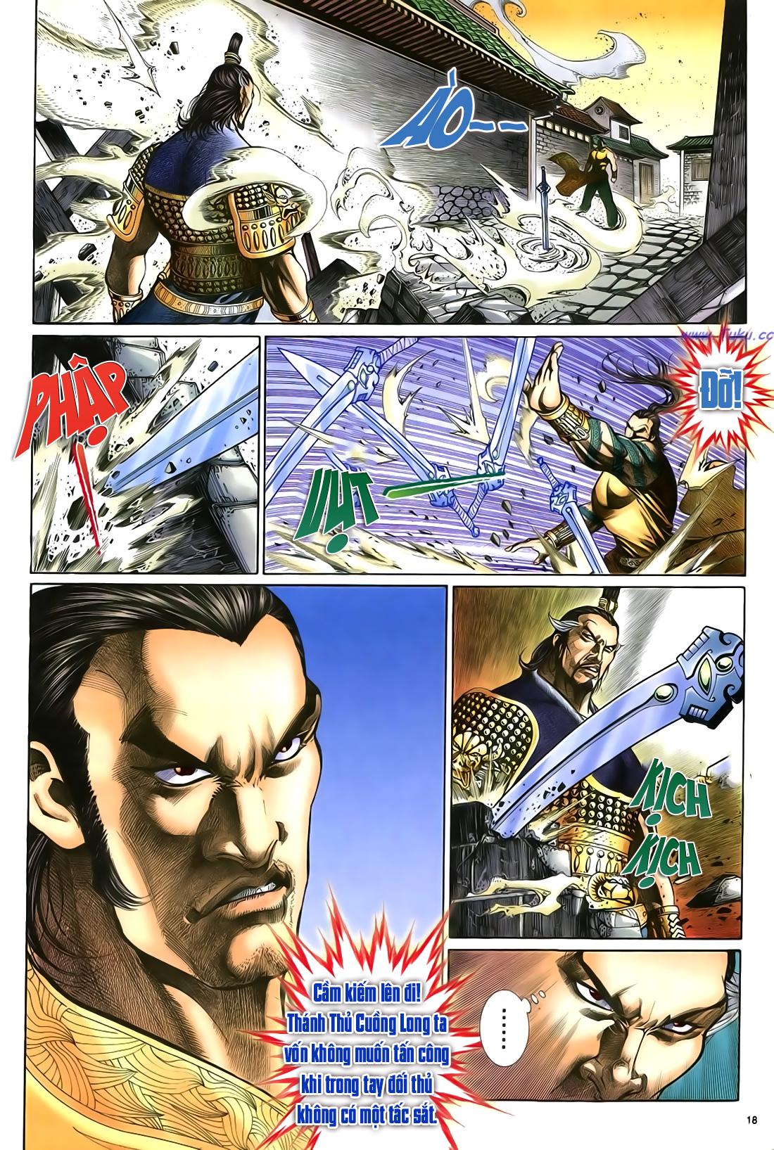 Anh hùng vô lệ Chap 23 trang 19