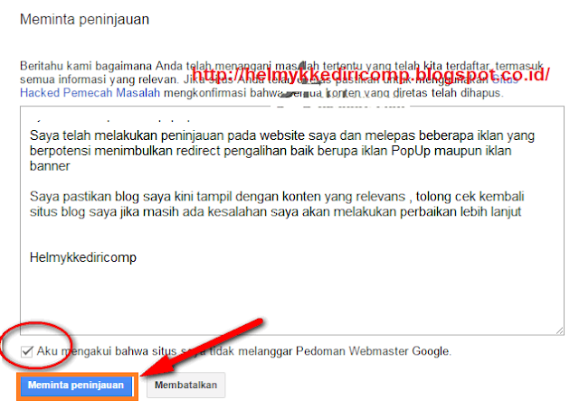 Cara Mengatasi Sneaky Redirect Blog