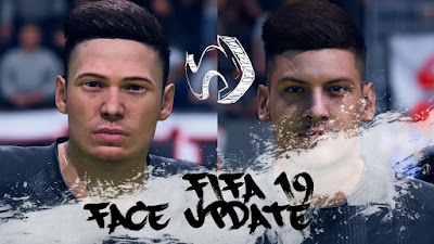 FIFA 19 Faces Luka Jovic by CrazyRabbit