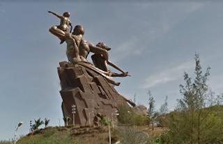Imagem: Monumento da Renascença Africana