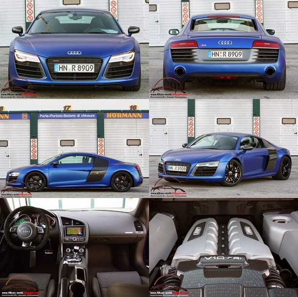 Automotive News: 2014 Audi R8 V10 Plus