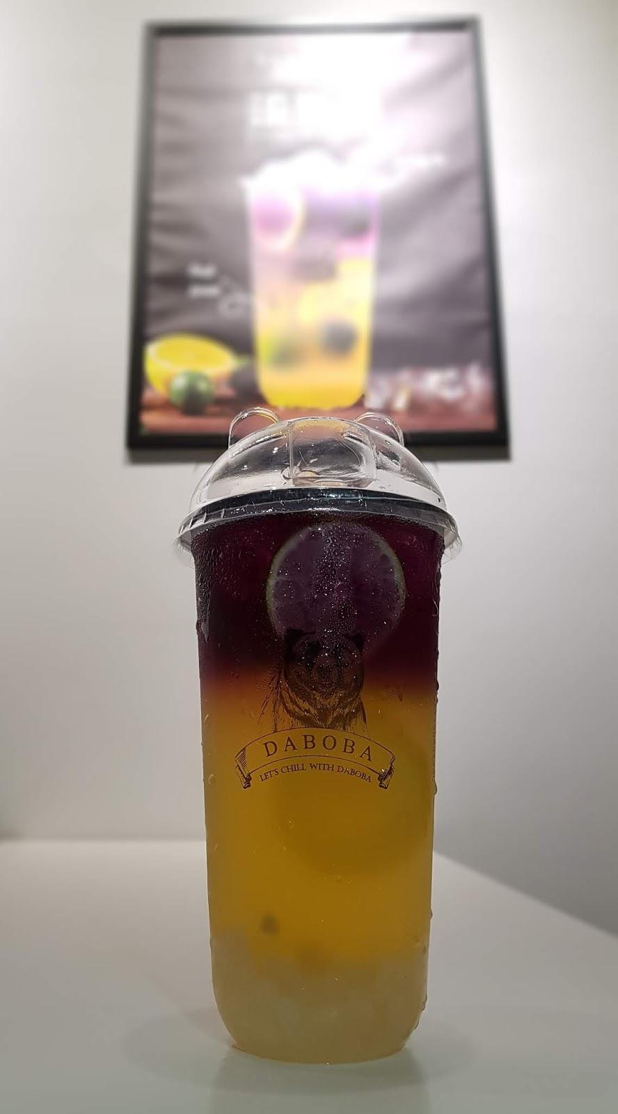 Daboba Mango Frappe Drink Menu Price