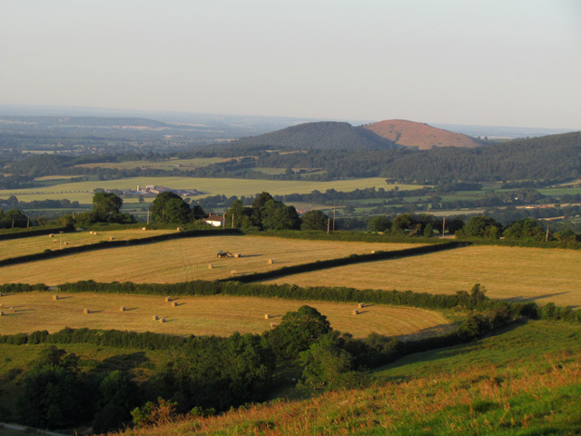 view from Bromlow Callow