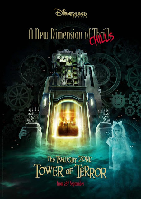 Disney, Disneyland, DLRP, Disneyland Resort Paris, The Twilight Zone Tower of Terror – A New Dimension of Chills, Tower of Terror, 巴黎迪士尼樂園度假區, 迪士尼