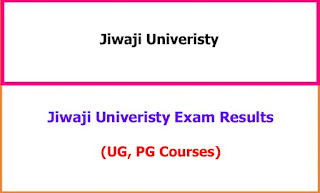 Jiwaji University Exam Results UG, PG 2021