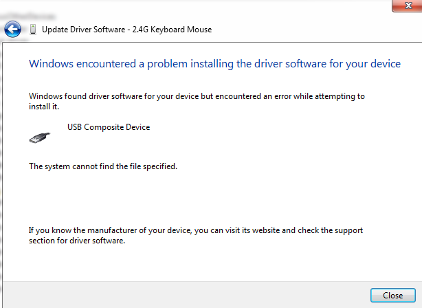 Latest USB Compound Device Driver download for Windows 7 8 Vista XP