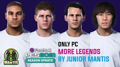 PES 2021 More Legends by Junior Mantis