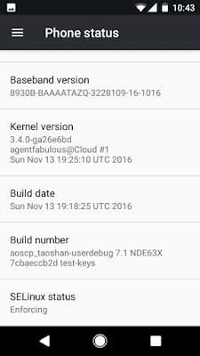 Upgrade xperia L ke Android N