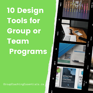 10 Design Tools for Group or Team Programs