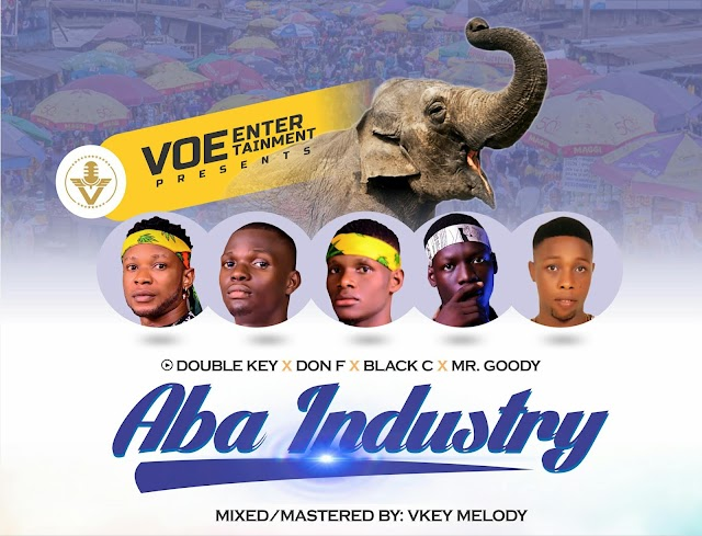 """Video + Music: Double Key_""""Aba Industry""""_X_ Don F, Black C_&_ Mr Goody"""