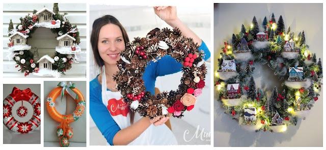 coronas-navideñas-reciclaje