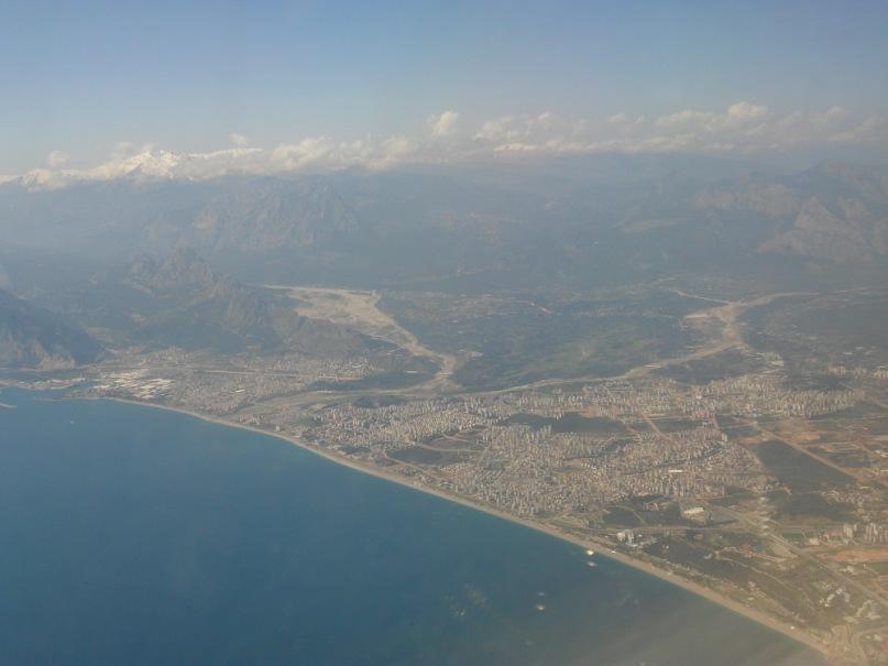 Анталия фотография с самолета