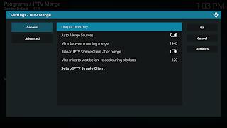 Addon IPTV Merge