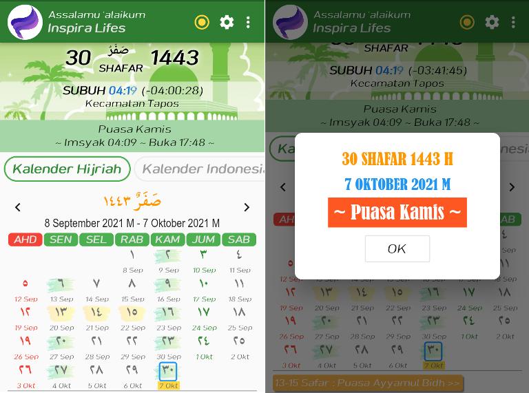 aplikasi kalender hijriah terbaik di android