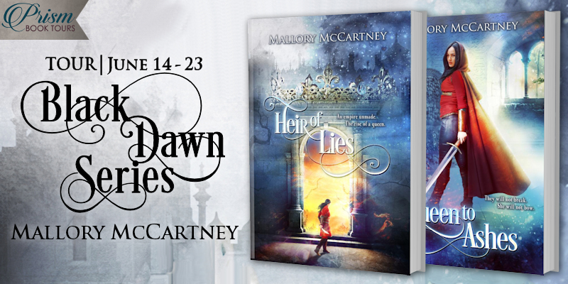 We're launching the Book Tour for the BLACK DAWN SERIES by Mallory McCartney!