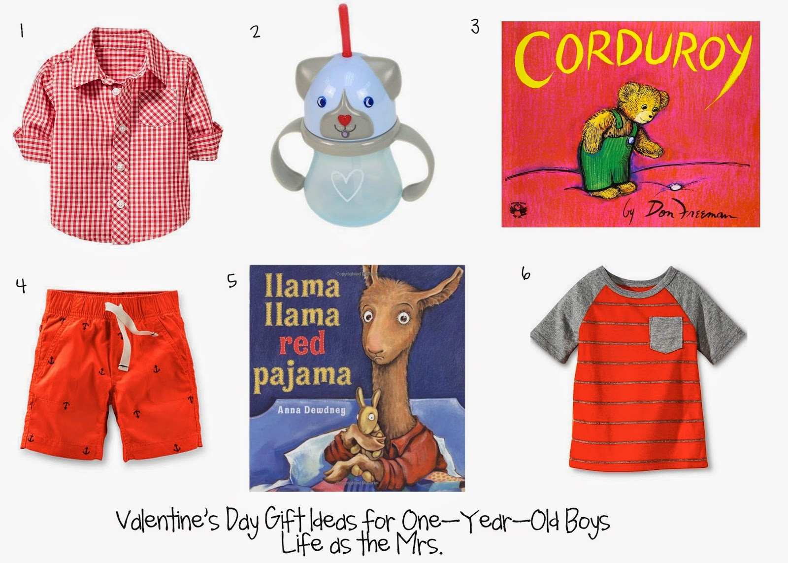 Life As The Mrs.: Valentine's Day Gift Ideas For 1-Year