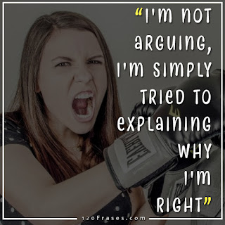 I'm not arguing, I'm simply tried to explaining why I'm Right