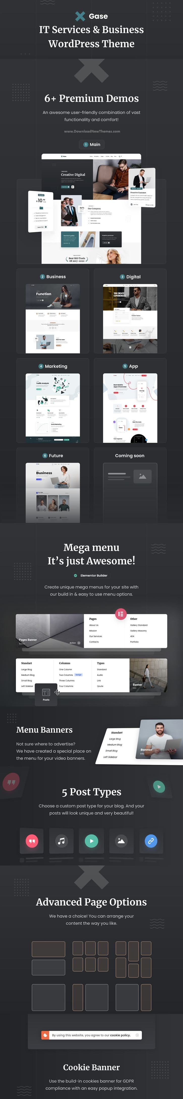 IT Services and Business WordPress Theme