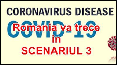 ce inseamna scenariul 3 de coronavirus in romania