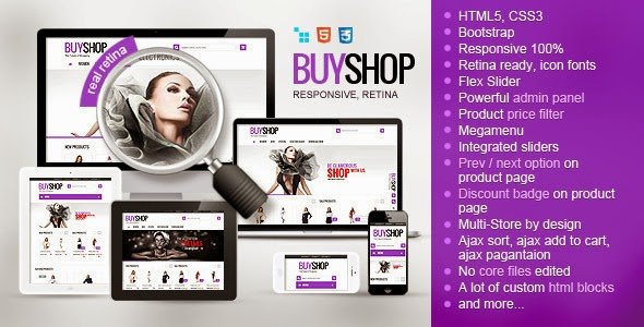popular eCommerce theme