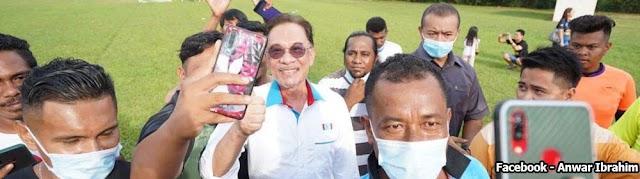 Anwar gesa contohi perpaduan rakyat Sabah
