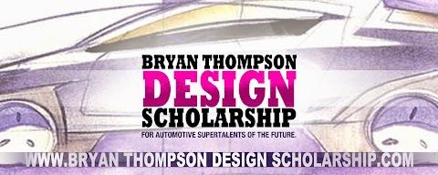 Bryan Thompson launches automotive design scholarship