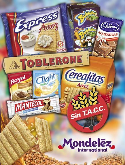 El informatorio con clight cadbury mantecol y otras marcas mondel z ampl a alimentaci n apta - Alimentos sin gluten para celiacos ...