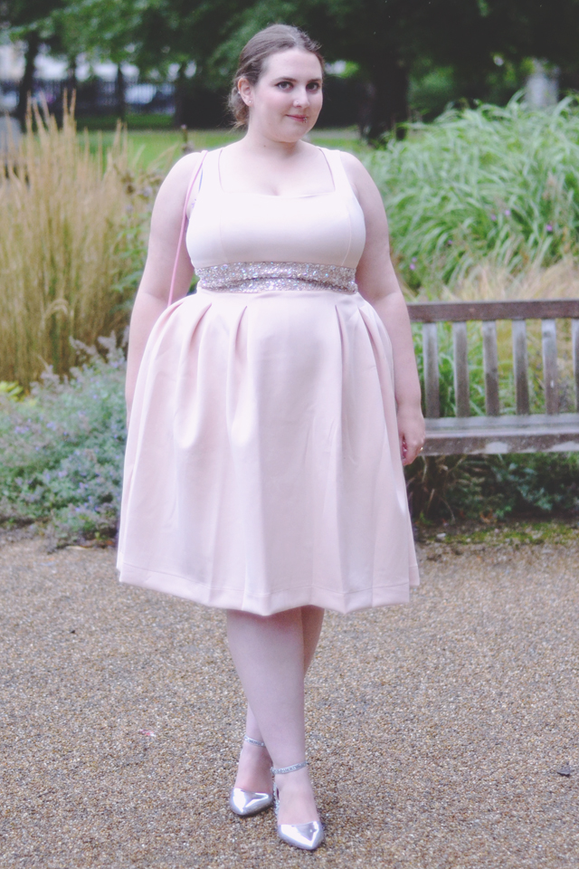 Wedding appropriate dress for plus size