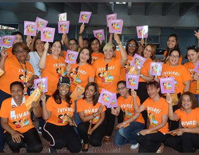 MIP participa junto al Ministerio de la Mujer en volanteo contra la violencia de género