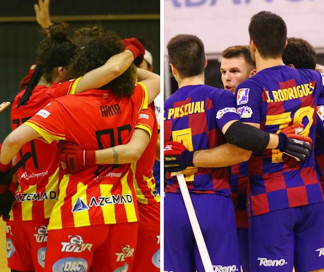 Barça y CP Manlleu terminaron como campeones de liga 2019/2020