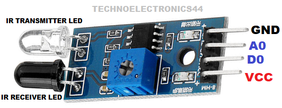IR SENSOR MODULE | Code | Circuit | Pin configuration | Circuit