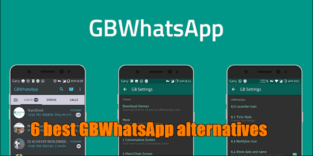 6 Best GBWhatsApp alternatives for Android