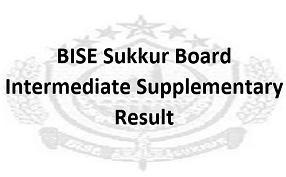 Intermediate Supplementary Result 2020 BISE Sukkur Board