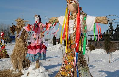 Lễ hội tiễn mùa đông Maslenitsa ở nước Nga