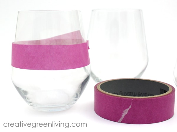 how to use mod podge or decoupage on wine glasses
