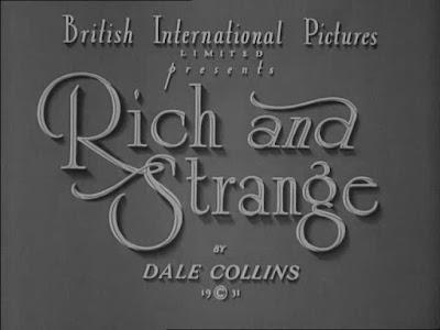 Ricos y extraños (1931)