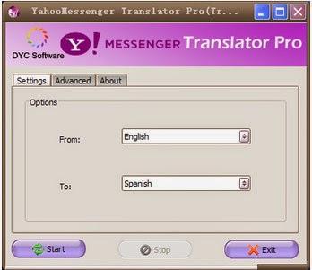 Yahoo! Messenger Translator Pro Free