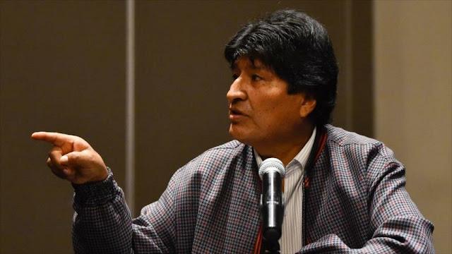 Morales asegura que Bolivia retomará su revolución democrática