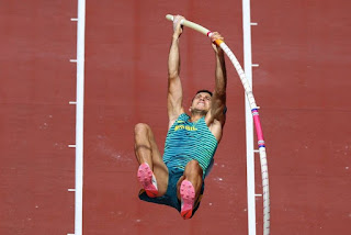 Thiago Braz faz sua melhor marca no ano e garante medalha de bronze
