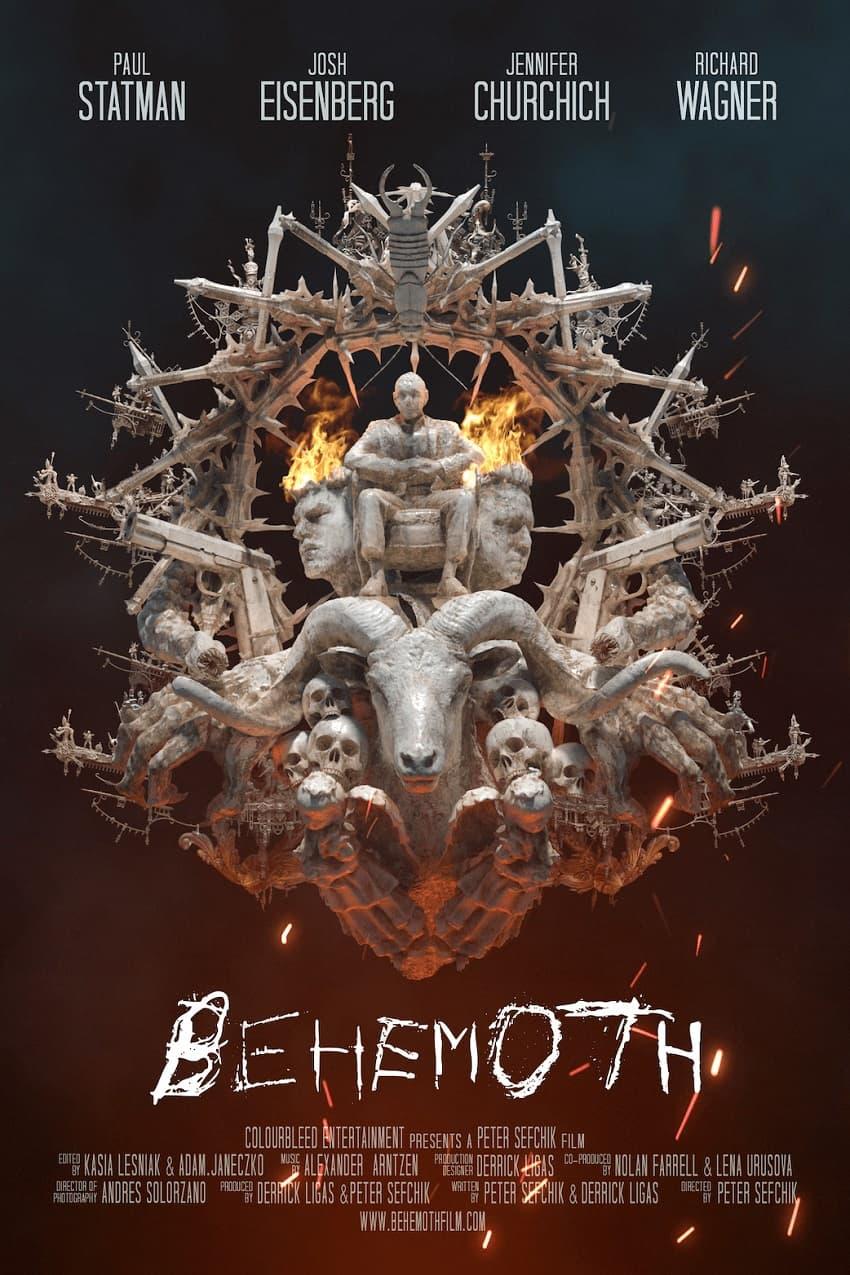 Вышел трейлер фильма ужасов Behemoth от художника «Аватара» и «Звёздных войн» - Постер