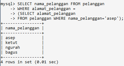 Nested Query