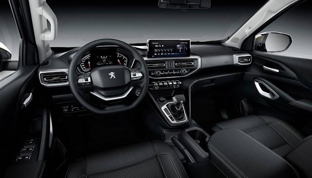 Peugeot Landtrek - interior - painel